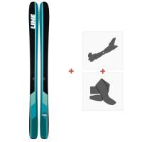 Ski Line Sick Day 104 2019 + Fixations de ski randonnée19C0011.101.1
