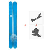 Ski Line Sir Francis Bacon Shorty 2019 + Fixations de ski randonnée