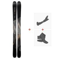 Ski Line Supernatural 100 2019 + Fixations de ski randonnée19B0104.101