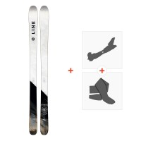Ski Line Supernatural 86 2018 + Fixations de ski randonnée19B0104.101
