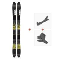 Ski Line Tigersnake 2016 + Fixations de ski randonnée