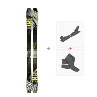 Ski Line Tom Wallisch Pro 2018 + Fixations de ski randonnée19B0010.101