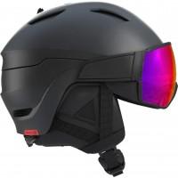Salomon Driver Black Red Accent Solar 2019