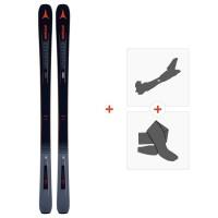 Ski Atomic Vantage 90 TI 2019 + Fixations de ski randonnée + PeauxAA0027182