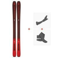 Ski Atomic Vantage 97 TI 2019 + Fixations de ski randonnée + PeauxAA0027186