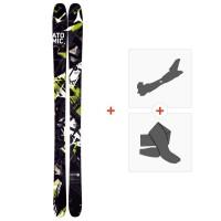 Ski Atomic Vantage Alibi 2014 + Fixations de ski randonnée + Peaux