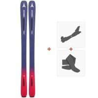 Ski Atomic Vantage WMN 86 C 2019 + Fixations de ski randonnée + PeauxAA0027158