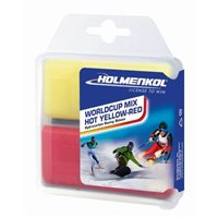 Holmenkol Worldcup Mix COLD Red-Blue 2x 35 g
