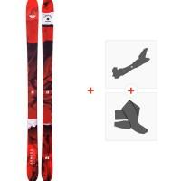 Ski Armada Tracer 88 2019 + Fixations de ski randonnée + PeauxRAST00068