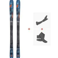 Ski Nordica Navigator 85 Flat 2018 + Fixations de ski randonnée + Peaux0A708700.001
