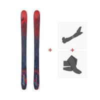 Ski Nordica Enforcer S 2018 + Fixations de ski randonnée + Peaux0A720900.001