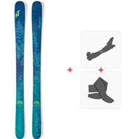 Ski Nordica Santa Ana 93 2019 + Fixations de ski randonnée + Peaux0A812200.001