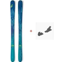 Ski Nordica Santa Ana 93 2019 + Fixations de ski0A812200.001