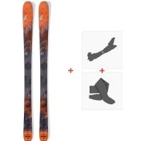 Ski Nordica Navigator 90 2019 + Fixations de ski randonnée + Peaux0A809000.001