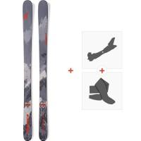 Ski Nordica Enforcer 93 2019 + Fixations de ski randonnée + Peaux0A811600.001