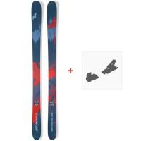 Ski Nordica Enforcer 100 2019 + Fixations de ski0A811400.001