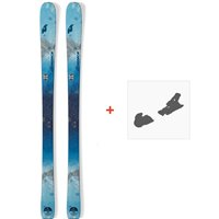 Ski Nordica Astral 84 2019 + Fixations de ski0A809800.001