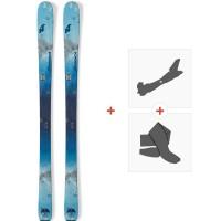 Ski Nordica Astral 84 2019 + Fixations de ski randonnée + Peaux0A809800.001