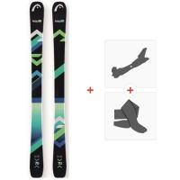 Ski Head The Show 2018 + Fixations de ski randonnée + Peaux311547