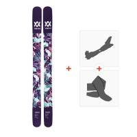 Ski Völkl Bash 116W 2018 + Fixations de ski randonnée + Peaux117434