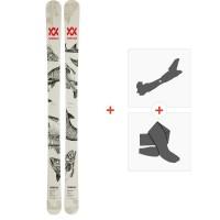 Ski Volkl Revolt 95 2019 + Fixations de ski randonnée + Peaux118438