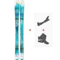 Ski Salomon Q-83 Myriad 2016 + Fixations de ski randonnée + Peaux