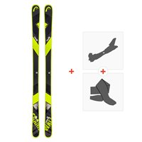 Ski Head Frame Wall 84 2019 + Fixations de ski randonnée + Peaux315508