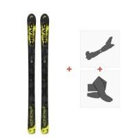 Ski Head Monster 98 2017 + Fixations de ski randonnée + Peaux310826