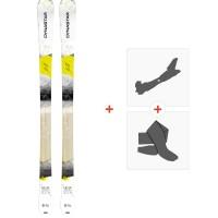 Ski Dynastar Neva 78 2015 + Fixations de ski randonnée + Peaux