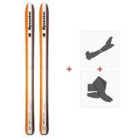Ski Dynastar Legend Pro Rider 115 2012 + Fixations de ski randonnée + PeauxDA1R901