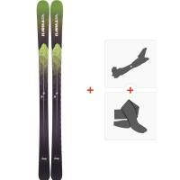 Ski Armada Invictus 85 2019 + Fixations de ski randonnée + PeauxRAST00044