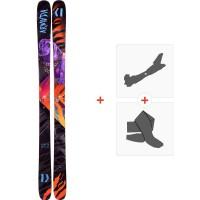 Ski Armada ARV 96 2019 + Fixations de ski randonnée + Peaux