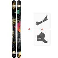 Ski Armada ARV 86 2019 + Fixations de ski randonnée + PeauxRAST00056