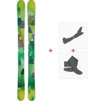 Ski Scott Vanisher 2015 + Fixations de ski randonnée + Peaux236402