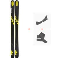 Ski Kastle FX85 2019 + Fixations de ski randonnée + Peaux