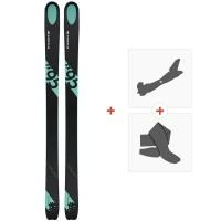 Ski Kastle FX95 2019 + Fixations de ski randonnée + Peaux