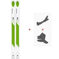 Ski Kastle MX84 2019 + Fixations de ski randonnée + Peaux