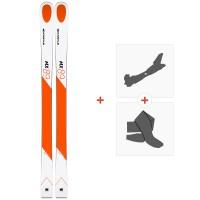 Ski Kastle MX89 2019 + Fixations de ski randonnée + Peaux