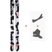 Ski Scott Scrapper 2016 + Fixations de ski randonnée + Peaux239674