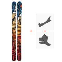 Ski Scott Scrapper 2015 + Fixations de ski randonnée + Peaux230741