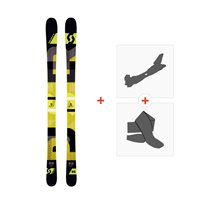 Ski Scott Punisher 95 2016 + Fixations de ski randonnée + Peaux239676