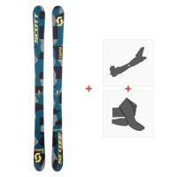 Ski Scott Kid Scrapper 2017 + Fixations de ski randonnée + Peaux244241