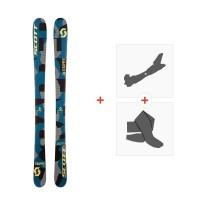 Ski Scott JR Scrapper 2017 + Fixations de ski randonnée + Peaux244240