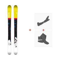 Ski Faction Prodigy JR 2018 + Fixations de ski randonnée + PeauxSKI-1718-PRDJR