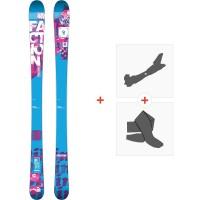 Ski Faction Dillinger 2014 + Fixations de ski randonnée + Peaux
