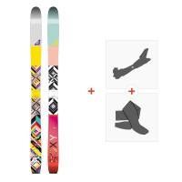 Ski Roxy Shima 2016 + Fixations de ski randonnée + Peaux