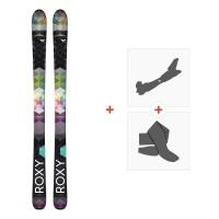 Ski Roxy Dreamcatcher 85 2016 + Fixations de ski randonnée + Peaux