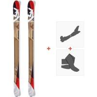 Ski Nordica Peshewa 2016 + Fixations de ski randonnée + Peaux0A426000.001