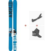 Ski Amplid The Hill Bill 2015 + Fixations de ski randonnée + PeauxA-30000