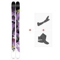 Ski K2 Remedy 92 2015 + Fixations de ski randonnée + Peaux